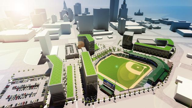 Plans for the new Rock Cats stadium in Hartford. (Courtesy of the City of Hartford )